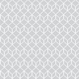 Pixel geometrisch naadloos patroon Stock Illustratie