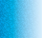 Pixel gradient background. Blue pixel gradient background for text Royalty Free Stock Photos