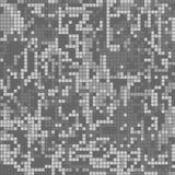 Pixel grigio di colorazione del cammuffamento protettivo senza cuciture del modello royalty illustrazione gratis