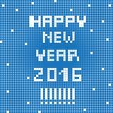 Pixel happy 2016 Royalty Free Stock Photography