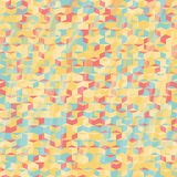Pixel hexagons. Seamless pattern for wallpaper, web page backgro Royalty Free Stock Images