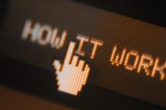 Pixel-Ikone Lizenzfreies Stockbild