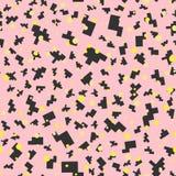 Pixel inconsútil Art Elements del diseño ilustración del vector