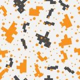 Pixel inconsútil Art Elements del diseño libre illustration