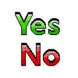 Pixel ja geen tekst gedetailleerde illustratie geïsoleerde vector vector illustratie