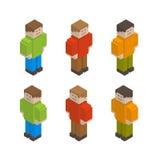 Pixel-Kerle Vektor Abbildung