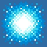 pixel-Kunst Explosie met 8 bits Stock Afbeeldingen