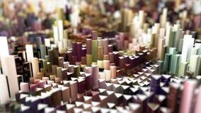 Pixel landscape Stock Images