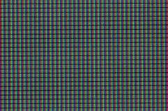 Pixel LCD monitor close-up. RGB drawing Modern LCD monitor Royalty Free Stock Photography