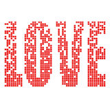 Pixel love Stock Photography