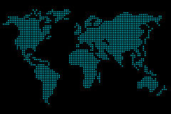Pixel map Stock Images