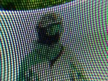 Pixel particolare fotografia stock libera da diritti