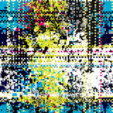 Pixel pattern Royalty Free Stock Images