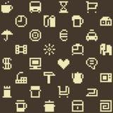 Pixel pattern Royalty Free Stock Photos