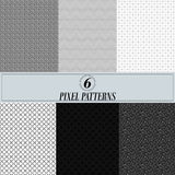 Pixel pattern for site. Royalty Free Stock Photo