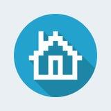 Pixel pc icon Stock Photos