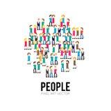 Pixel People Stock Photo