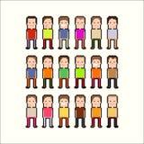 Pixel People Stock Photography