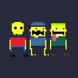 Pixel People Stock Images