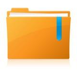 Pixel perfect folder icon Stock Image