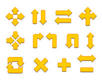 Pixel-Pfeile Vektor Abbildung