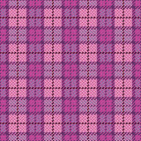 Pixel Plaid_Magenta-Violet Royalty Free Stock Photography
