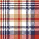 Pixel plaid textile tartan seamless pattern. Vector illustration vector illustration