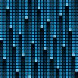 Pixel rain background Royalty Free Stock Photo