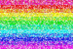 Pixel Rainbow Pattern Background. EPS8 Vector. Pixel Rainbow Patterns Background. Colors are randomly assigned. EPS8 Vector royalty free illustration