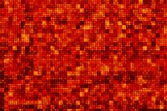 Pixel rouge Dots Background Photographie stock