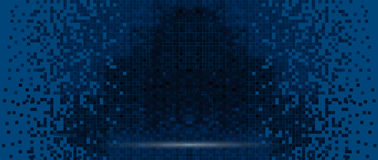 Pixel screen on digital screen. Pixelated screen, digital technology concept background Royalty Free Stock Photo