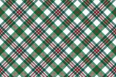 Pixel seamless pattern check tartan fabric texture Stock Photography
