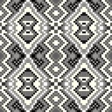 Pixel seamless pattern on a gray background. Quality illustration for your design vector illustration