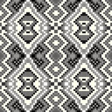 Pixel seamless pattern on a gray background. (vector eps 10 vector illustration