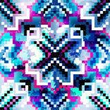 Pixel seamless pattern grunge texture. (vector eps 10 royalty free illustration