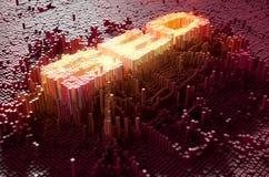 Pixel SEO Concept Stock Fotografie