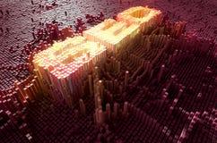 Pixel SEO Concept Royalty-vrije Stock Fotografie