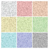 Pixel set colorful textures and backgrounds Stock Images