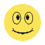 Pixel sorridente Fotografia Stock Libera da Diritti