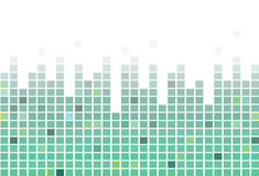 Pixel square tiles, mosaic abstract background. stock photography