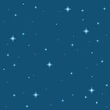 Pixel-Stern-Hintergrund Lizenzfreie Stockbilder