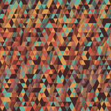 Pixel. Triangle. Seamless pattern for wallpaper, web page backgr Royalty Free Stock Images