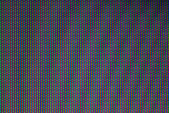 Pixel of TV. A color pixels of a analog tv Stock Photography