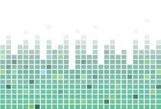 Pixel vierkante tegels, mozaïek abstracte achtergrond Stock Fotografie