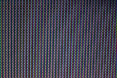 Pixel von Fernsehapparat stockfotografie