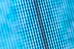 Pixel von LCD-Fernsehschirm Stockfotos