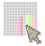 Pixel web Stock Photo
