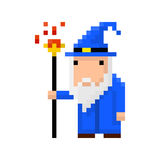 Pixel wizard. For games and applications Stock Photos