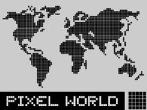 Pixel world Stock Images