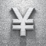 Pixel yen Stock Photo